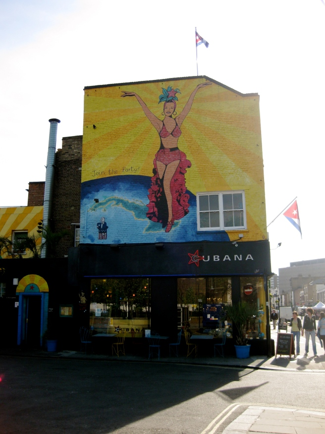 Cubana, at the end of Lower Marsh.