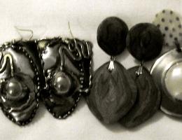 1980s vintage earrings