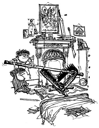 Advent 14 and 15: Molesworth's Christmas – CLAMOROUS VOICE